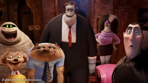 Hotel Transylvania - Cee-Lo Green, David Spade, Kevin James, Fran Drescher, Adam Sandler, Steve Buscemi and Molly Shannon