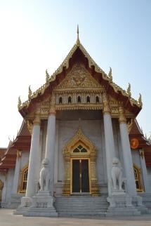 Bagian belakang Marble Temple