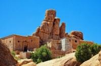 Rumah adat Berber di Maroko