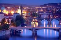 Sungai Vltava di Republik Ceko