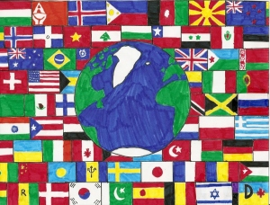Flags_From_Around_The_World_by_ZarinStar