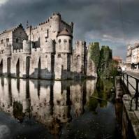 kastil Gravenseteen, Belgia