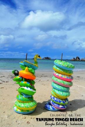 """""""Sate"""" Keceriaan di Birunya Langit Pantai TanjungTinggi"""