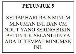 Petunjuk 5