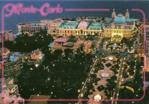 Les Jardins du Casino et la Place, Monte Carlo