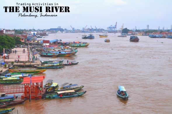 Postcard - The Musi River