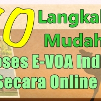 [Update Agustus 2018] 10 Langkah Mudah Proses Visa On Arrival India Secara Online