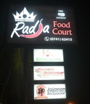 Nongkrong Kekinian di Radja Food Court Sambil Ngelirik Cinderamata di TemphoyacJambi
