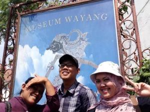 Depan Museum Wayang