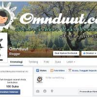 Fan Page Omnduut : Seberapa Penting Punya Fan Page Blog di Facebook?