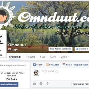 Fan Page Omnduut : Seberapa Penting Punya Fan Page Blog diFacebook?