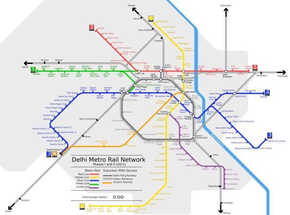 delhi-metro-rail-map