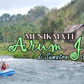 Basah Gembira Menikmati Arung Jeram di SumatraSelatan