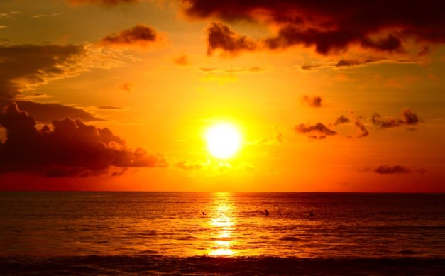 Kuta-beach-sunset-Best-Sunset-View-in-Bali