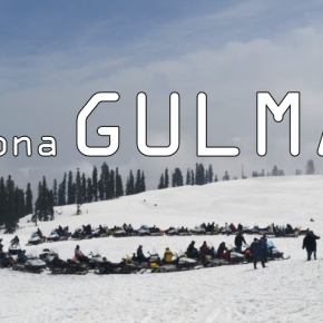 First Snow in My Life : Gulmarg in India!