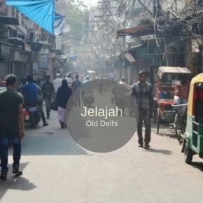 Menyusuri Old Delhi : Dari Qutb Minar, Tersesar di Labirin Urdu Bazaar & Chandni Chowk Hingga ke JamaMasjid