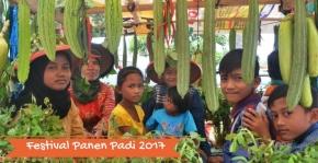 Seru-seruan di Festival Panen Padi LampungTimur