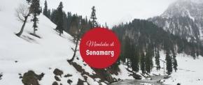 Membeku di Padang Rumput Emas : Sonamarg,Kashmir