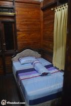 Kamar yang ada di Villa Bukit Mas