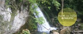 Mengintip Keindahan Air Terjun Mengaya di Takengon, AcehTengah