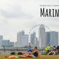 Cara Seru Menghabiskan Sore di Singapura : Leyeh-leyeh di Marina Barrage