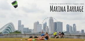 Cara Seru Menghabiskan Sore di Singapura : Leyeh-leyeh di MarinaBarrage