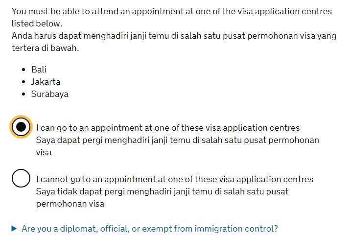 Dari A Sampai Z Pengurusan Visa Turis Inggris Uk Di Vfs