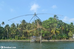 Alat menangkap ikan di Kerala