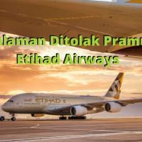 Sedihnya Ditolak Pramugari Etihad Airways